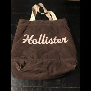 Hollister quilted bag